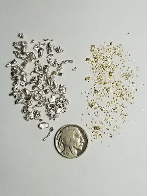 GOLD Paydirt 100% Unsearched and Guaranteed Gold/Silver Nuggets Added.1/2 lb Bag