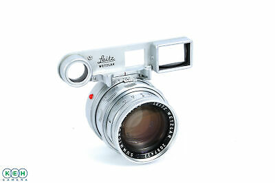 Leica M 50mm f/2 Summicron Rigid DR (Dual Range) Lens, Chrome {39}