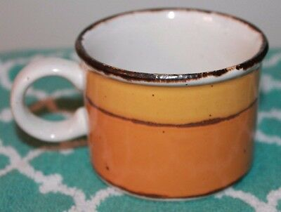 "Sun Midwinter Stonehenge Wedgwood England VTG Flat Coffee Cup Retired 2 1/2""!!!!"
