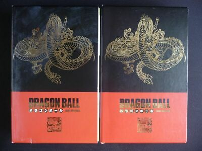 DRAGON BALL Edition DELUXE coffret 1 et 2 tome 1 a 4 TBE