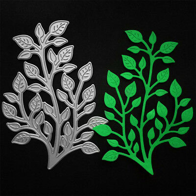 Branch leaves Metal Cutting Dies for DIY Scrapbooking Album Card Making Decor Wd