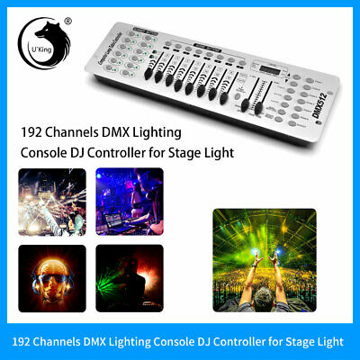 192 White Channels DMX-512 Controller Console For Stage Light Laser Disco Party