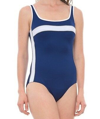 f46896c41fadc Miraclesuit Women s Swimsuit Magnum Marine Blue One Piece Color Block Tank