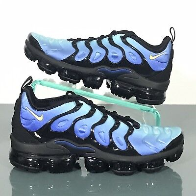 b4ea05c5797c Nike Air Vapormax Plus Hyper Blue Black Yellow Mens Size 9 New 924453-008