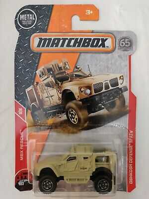 2018 MATCHBOX 65TH Toys & Hobbies ANNIVERSARY MBX RESCUE '43 JEEP WILLYS 29/30