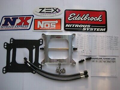 *hot! New Blackout Holley 4150 Cheater 250 Plate Nitrous Kit 50-250Hp Nos/nx/zex