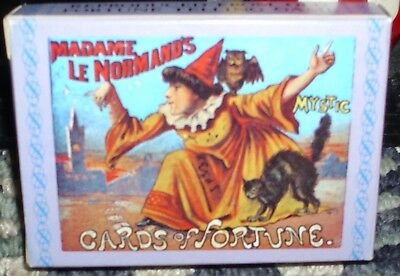 Madame Le Normands Mystic Cards of Fortune Oracle Deck MLLE LENORMAND NEW! LOOK!