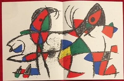 Joan Miró, Original Lithograph Vol.II. Nr. X. 1975, Mourlot Paris