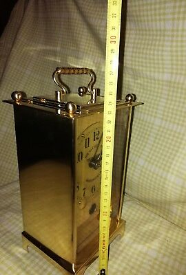 Carriage Clock (Oversized) 28cms Tall  Gledhill Brooks Time Recorders Tr22