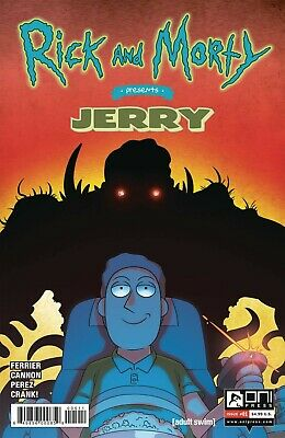 Rick And Morty Presents Jerry #1 Covers A + B Est Rel Date 03/13/2019