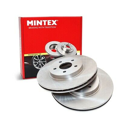 Front Brake Discs x2 320mm Diameter Vented 28.1mm Thickness - Mintex MDC2343