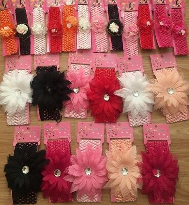 Newborn Baby Headbands Bundle