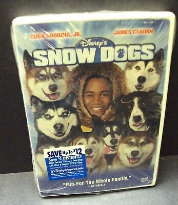 Snow Dogs - Disney Dvd - James Coburn - Cuba Gooding Jr!