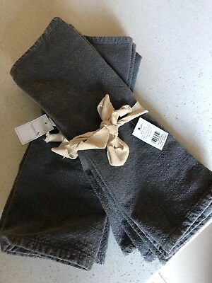 Freedom, 2 sets of 4 placemats, new with tag, grey, as seen on the block