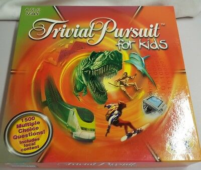 Spiele Trivia Pursuit for Kids Board Game 8-12 Years