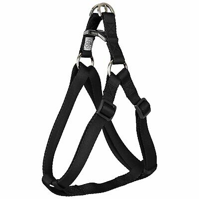 Good2go Adjustable Black Skull Print Dog Harness Small