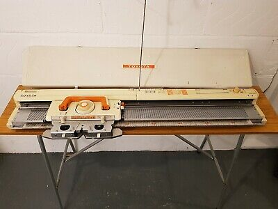 Toyota KS901 punchcard knitting machine,  **GOOD CONDITION**