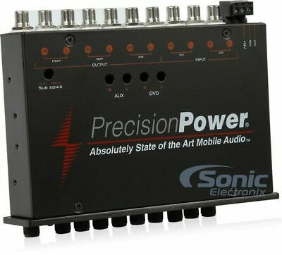 Precision Power E.7 Band Parametric Digital Equalizer 7 Volt Stereo Pre Amp New