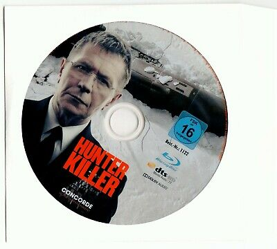 Hunter Killer (Blu-Ray) Gerard Butler, Oldman neu in neutraler Hülle Deutsch