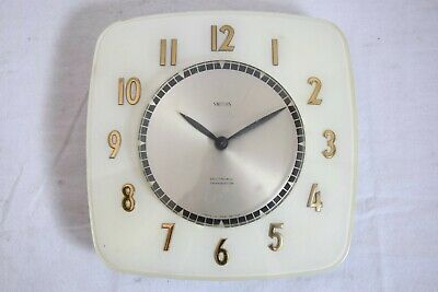 VINTAGE 1970s SMITHS SECTRONIC TRANSISTOR RETRO MID CENTURY WALL CLOCK