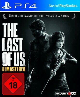 The Last Of Us - Remastered Edition (Sony PlayStation 4, 2014, PS4) USK ab 18