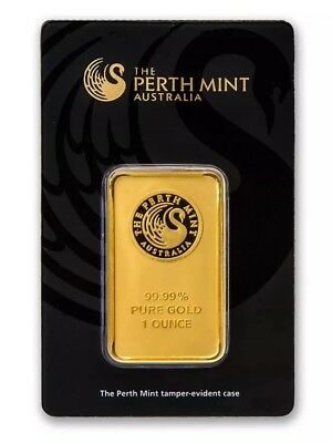 Lingot d'or 1 once The Perth Mint Australia sous blister + Certificat
