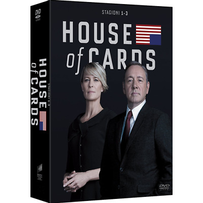STV *** HOUSE OF CARDS - Stagione 01-03 (12 Dvd) *** sigillato