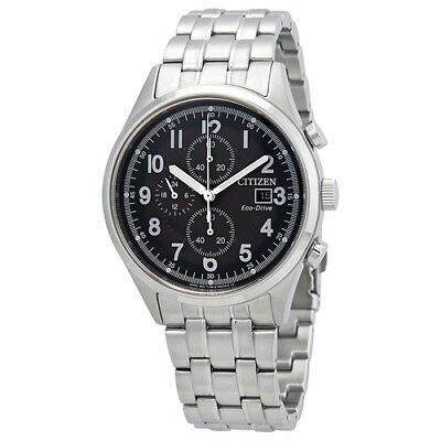 *BRAND NEW* Citizen Men's Eco-Drive Grey Dial Stainless Steel Watch CA0620-59H
