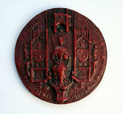 King Richard III Great Seal Obverse Medieval Reproduction Collectable Giftware.