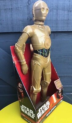 Star Wars The Force Awakens C-3PO 18 inch Big Figs Jakks Action Figure Brand New