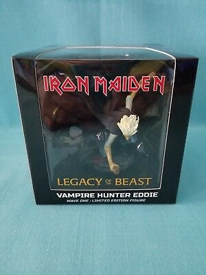 "Iron Maiden  ""Vampire Hunter Eddie"" 4"" Vinyl Mini Figure -  2017"