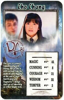 Cho Chang - Harry Potter & The Order Of The Phoenix 2007 Top Trumps Card C2005E