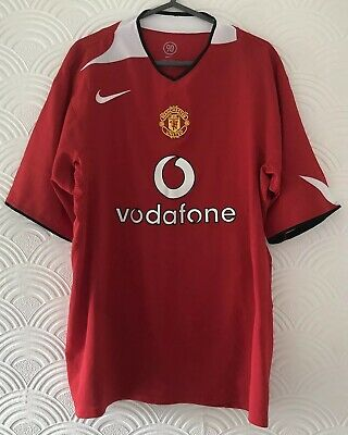 9452ab2d659 Vintage Official Manchester United Football Shirt   Size XL Home 2004-2006  Nike