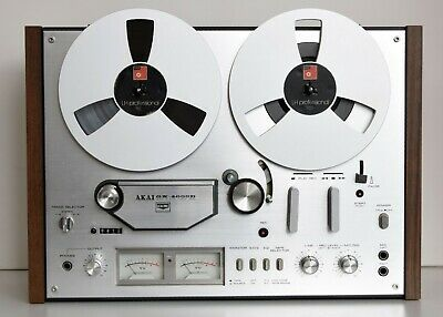 Akai GX-4000D Tape Reel recorder in almost new condition + reels + tapes