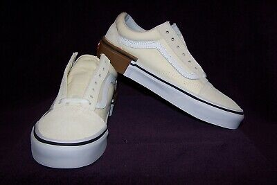 f51b0aa36f VANS Old Skool (Gum Block) Men s Skate Shoes Classic White NIB! AWESOME!