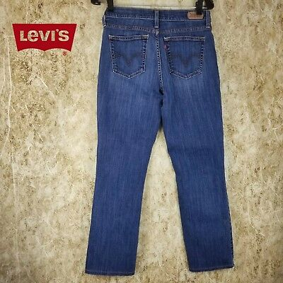 Boys Levi's 505 Straight Leg Mid Rise Stretch (Sz 12 Slim)