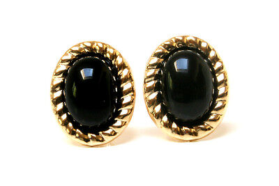 9ct Gold Sapphire studs oval earrings Gift Boxed Made in UK Birthday Gift