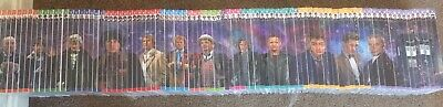 Doctor Who Complete History Price Is For Each Limited Quantity Left...going Fast