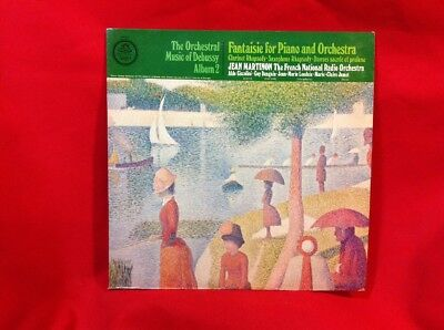 The Orchestral Music of Debussy Album 2 Angel S-37065 33rpm LP
