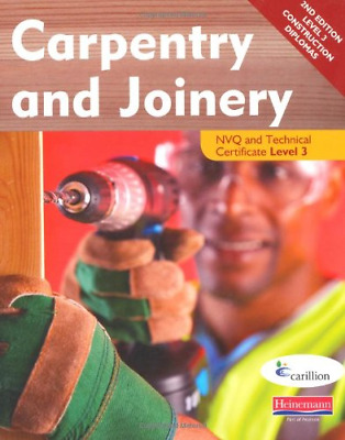Carpentry and Joinery NVQ and Technical Certificate Level 3 Student Book, 2nd