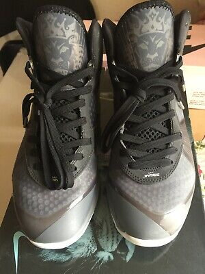 2011 Nike Air Max LEBRON VIII 8 V 2 COOL GREY WHITE SILVER BLACK 429676 820d1c1f4064a