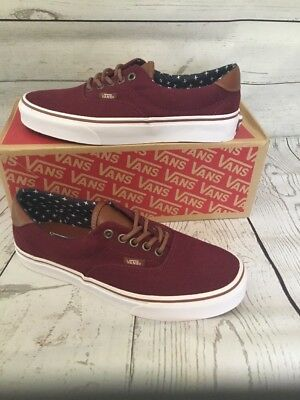 1e8208306e VANS ERA 59 (T L) Windsor Wine Twill Mens 6.5 -  45.00