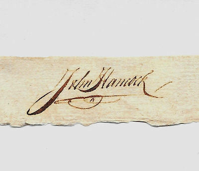 John Adams Autograph Reprint On Genuine Original Period 1780s Paper