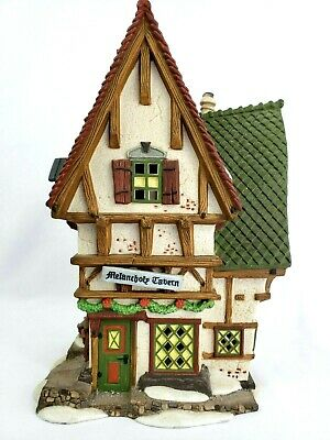 """The Melancholy Tavern"" building, Department 56 Dickens Village #58347"