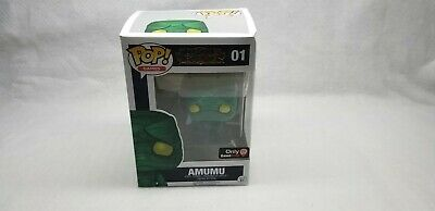 Funko Pop! Games League of Legends Amumu #01 Game Stop Exclusive damaged box