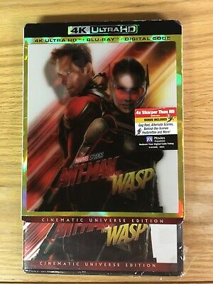 Ant-Man and the Wasp 4k Ultra HD + Blu ray New, but NO Digital Read Description