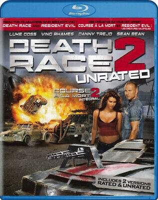 Death Race 2 (Unrated) (Blu-Ray / Dvd / Digita *new Bl