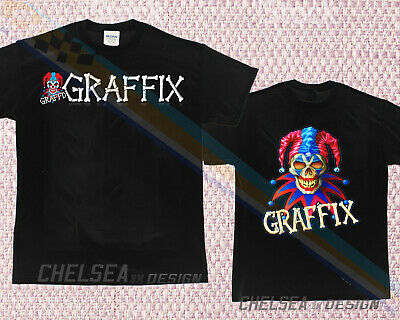 New Limited 1990s GRAFFIX bong graffiti vtg 90s rap hip hop T-shirt weed 4dk4