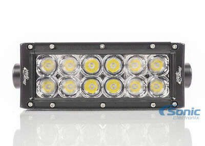 "Race Sport Accessories RS36 6.5"" ECO-LIGHT LED Light Bars w/ 3D Reflector"