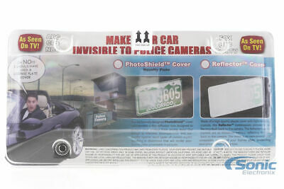 Race Sport RS-PB-PLATE-2 PhotoShield License Plate Cover (Sold Individually)
